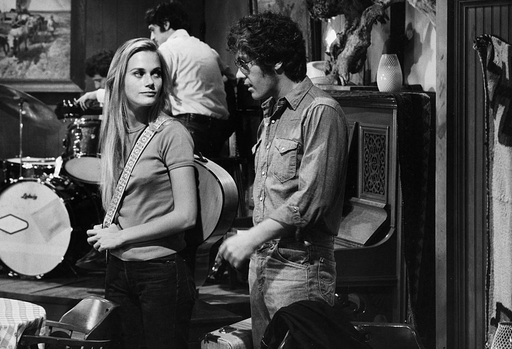 Peggy Lipton on the set of Mod Squad|ABC Photo Archives/ABC via Getty Images