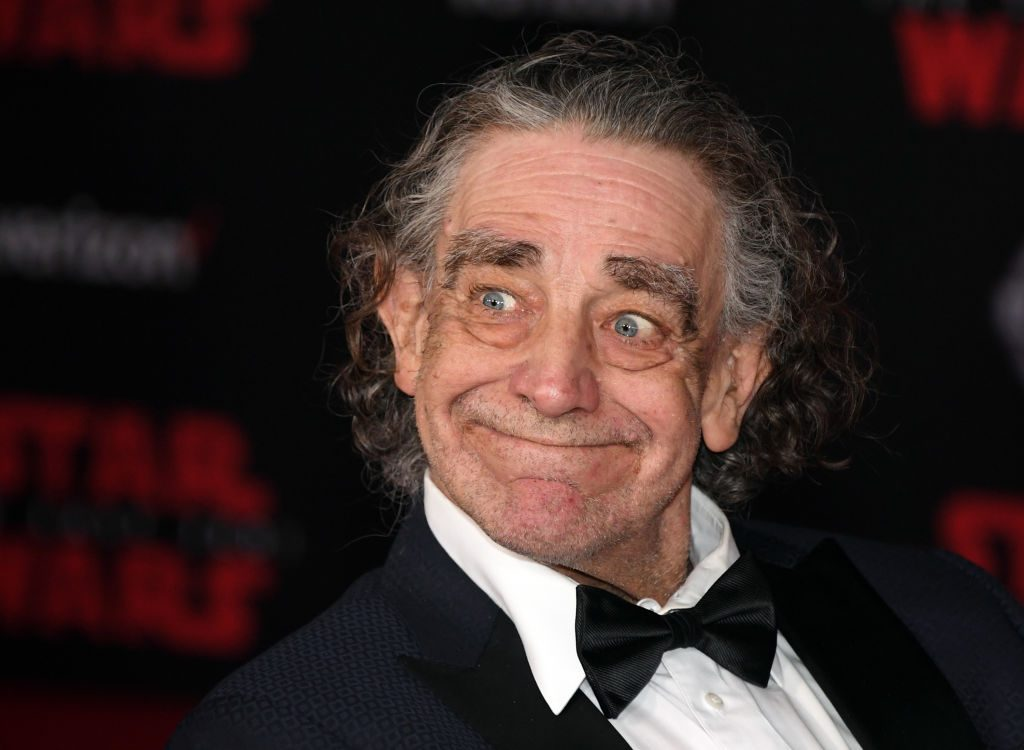 """Actor Peter Mayhew attends the premiere of Disney Pictures and Lucasfilm's """"Star Wars: The Last Jedi"""""""