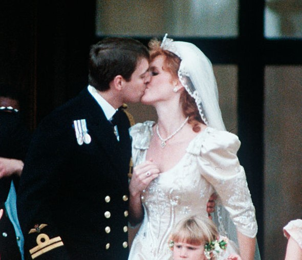 Prince Andrew and Sarah Ferguson's royal wedding