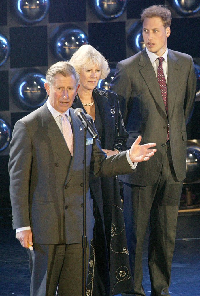 Prince Charles, Camilla Parker Bowles, and Prince William