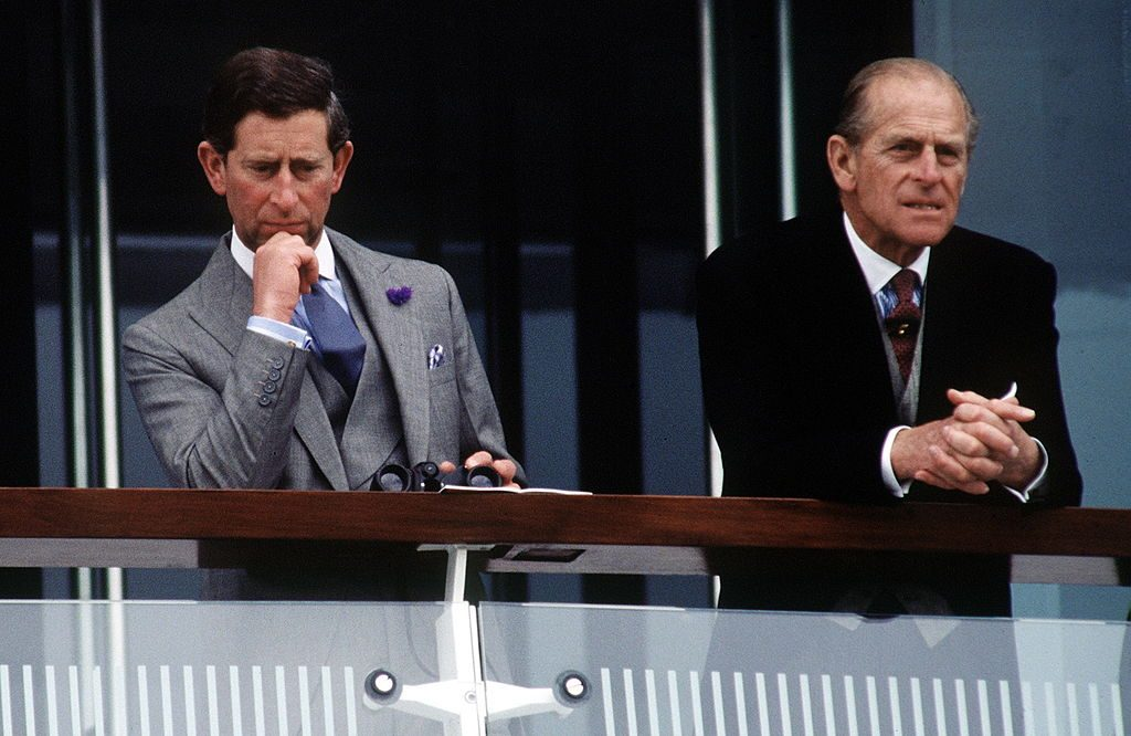 Prince Charles and Prince Philip