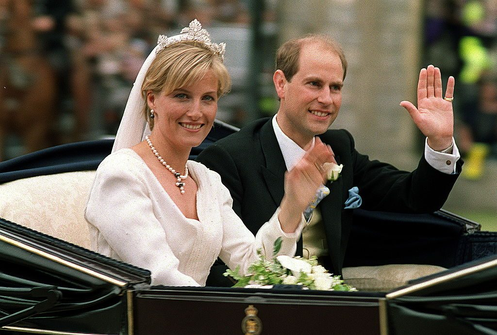 Prince Edward and Sophie, Countess of Wessex wedding day