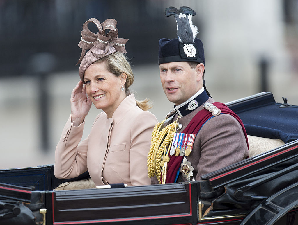 Prince Edward and Sophie