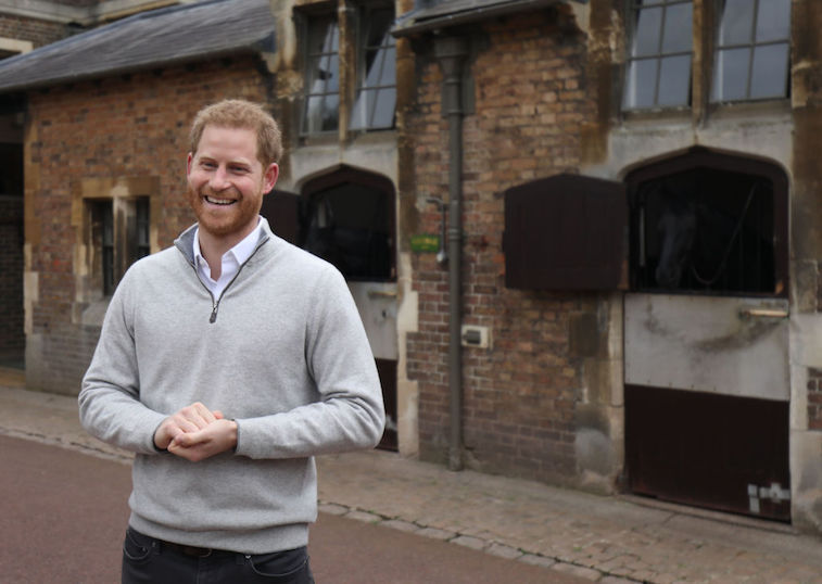 Prince Harry and Meghan Markle mark one-year anniversary with sweet video