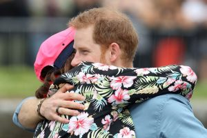 Prince Harry Gives the Best Hugs, According to Prince Harry