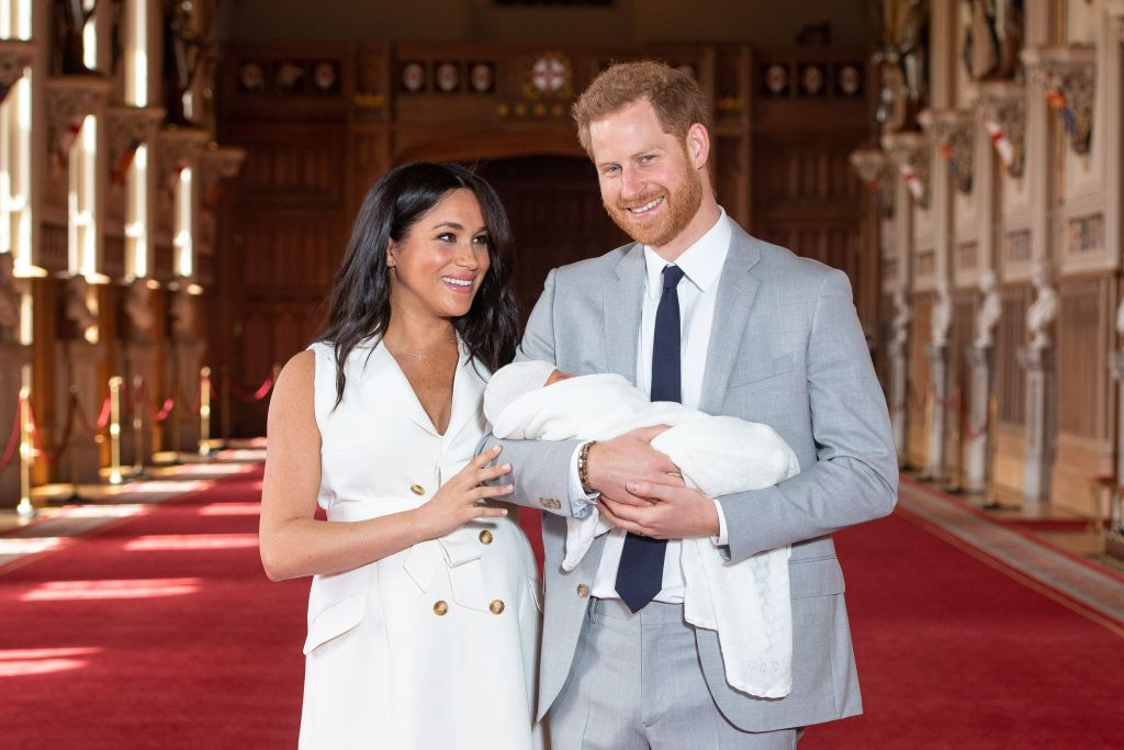 Prince Harry and Meghan Markle's son Archie
