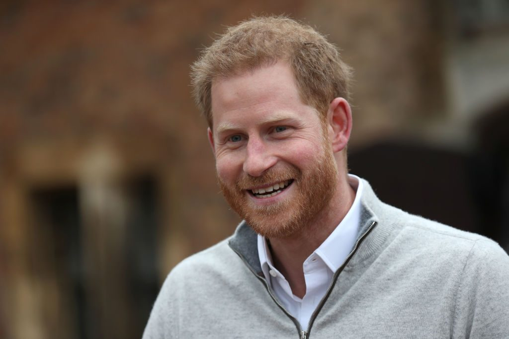 Prince Harry after Baby Sussex is born