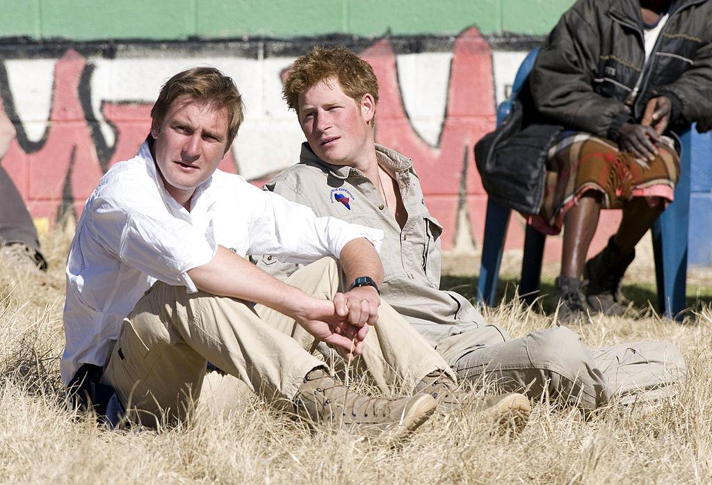Prince Harry and Major Tom Archer-Burton