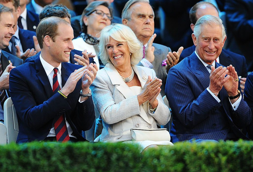 Prince William, Camilla Parker Bowles, and Prince Charles