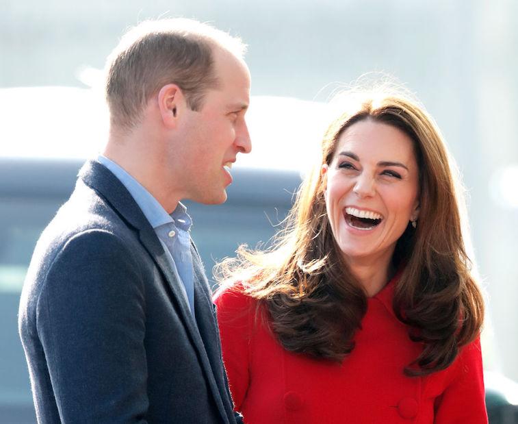 Kate Middleton Prince William laughing