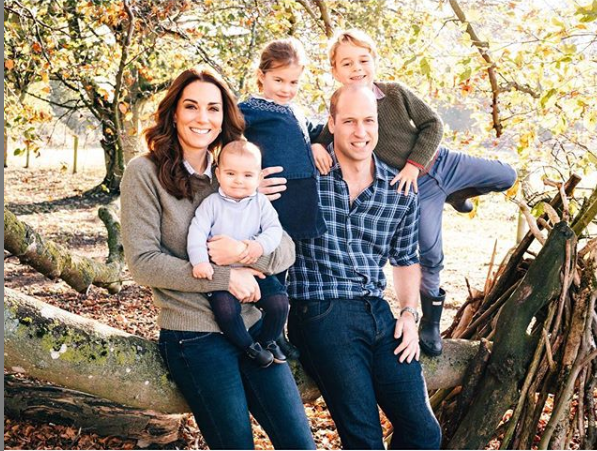 Prince William, Kate Middleton Prince George, Princess Charlotte, and Prince Louis