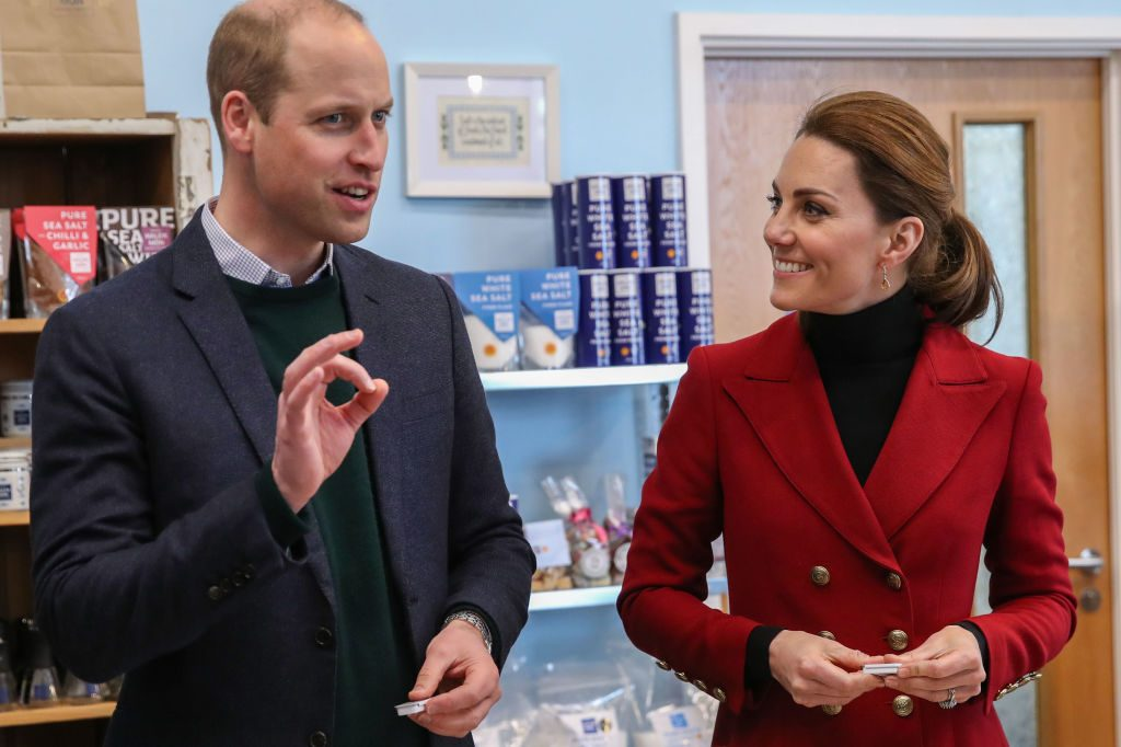 Prince William and Kate Middleton visit North Wales