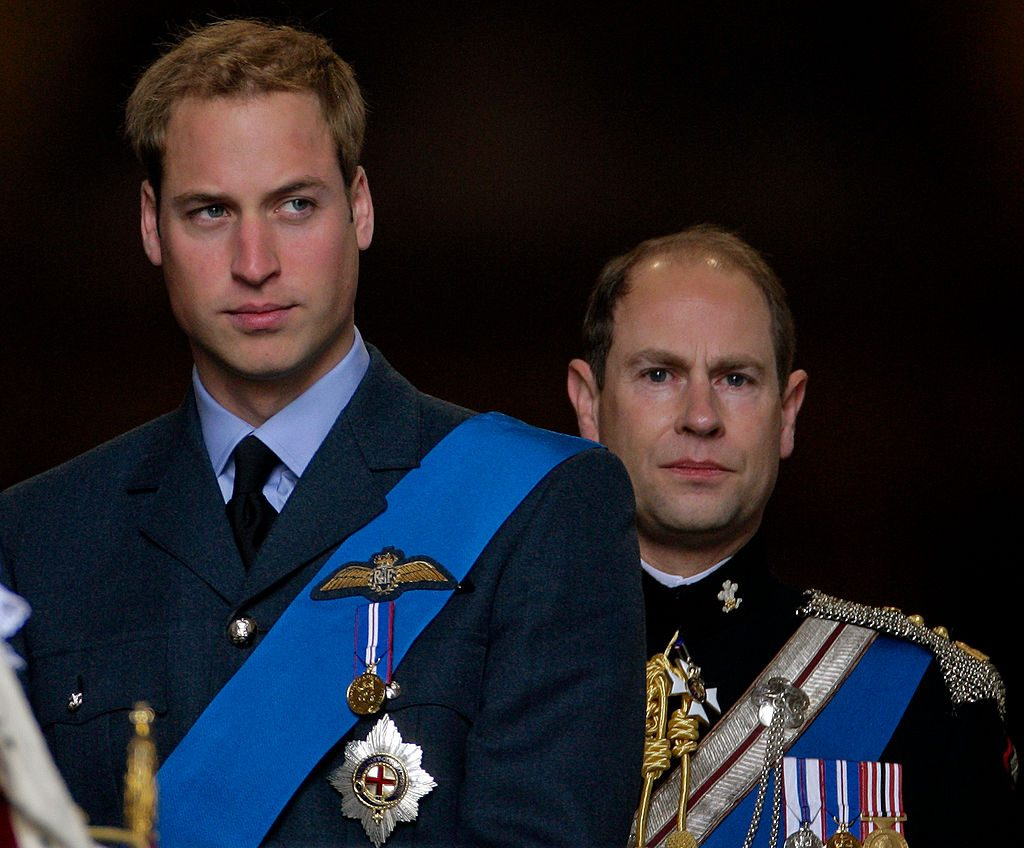 Prince William and Prince Edward