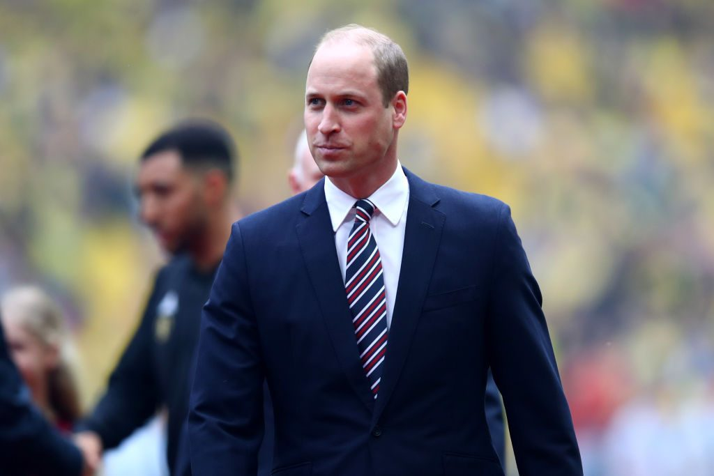 Prince William Manchester City v Watford - FA Cup Final