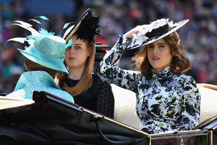Princess Beatrice of York and Princess Eugenie of York