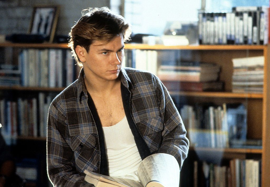 River Phoenix in a scene from the film 'Sneakers', 1992
