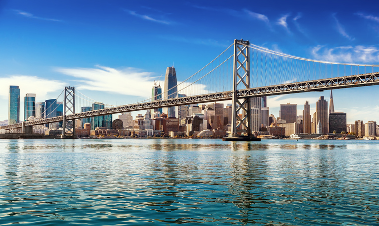 View of downtown San Francisco