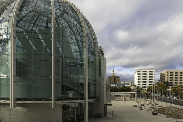 View of downtown San Jose