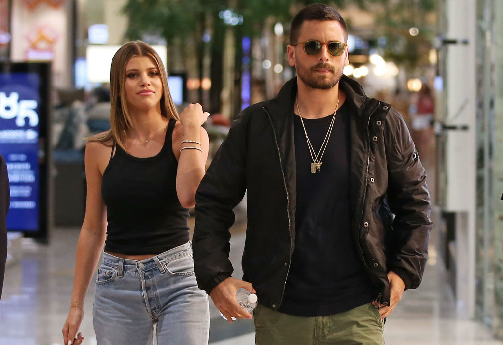Image result for Kourtney Kardashian, Sofia Richie, and Scott Disick Are the Modern Family We All Need