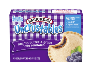 Grape jelly Uncrustables