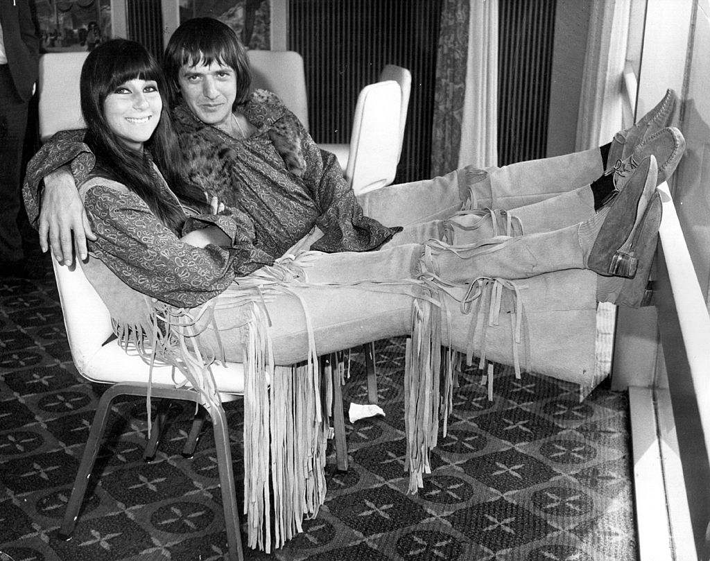 Sonny Bono and Cher.