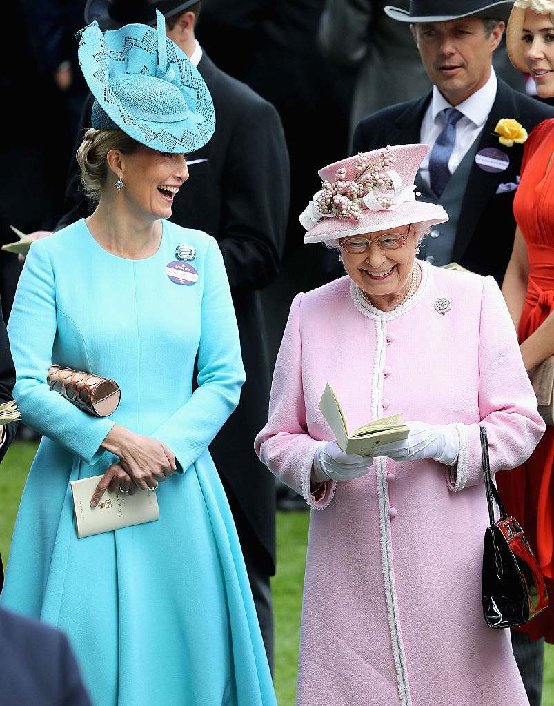 Sophie, Countess of Wessex and Queen Elizabeth