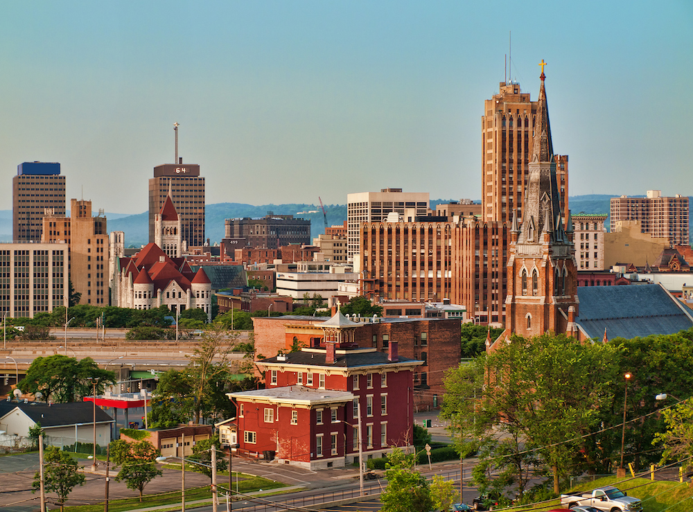 View of Syracuse, NY