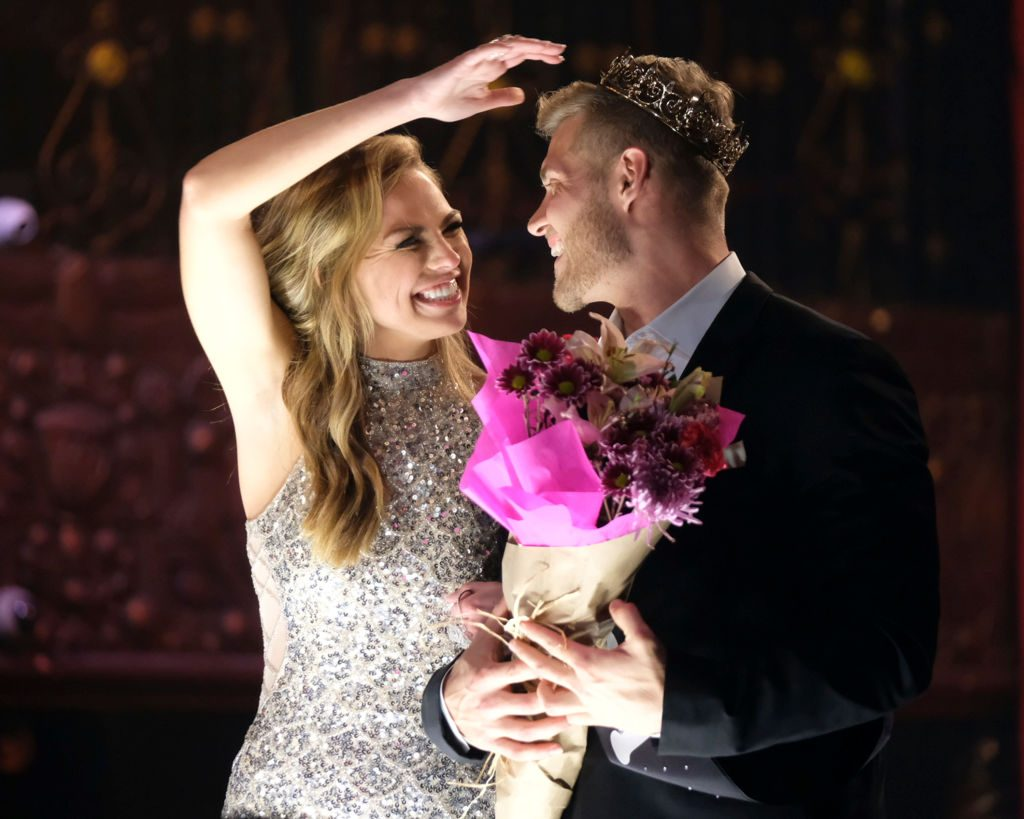 "Hannah Brown and Luke P. on ""The Bachelorette"""