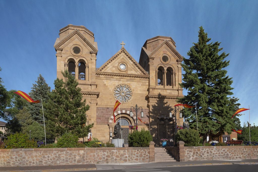 Cathedral Basiilica of Saint Francis of Assisi, Santa Fe, New Mexico