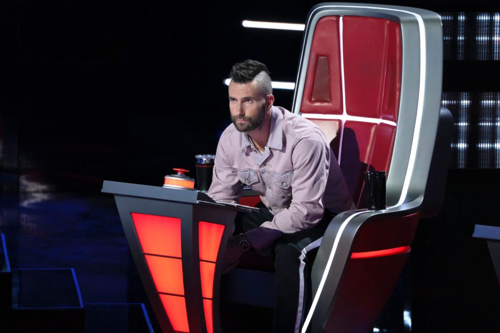 "Adam Levine on ""The Voice"""