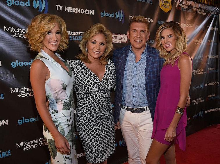 Todd Chrisley and family