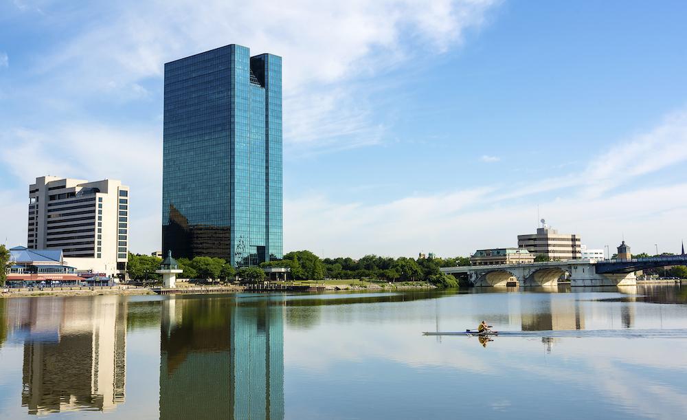 View of Toledo, OH