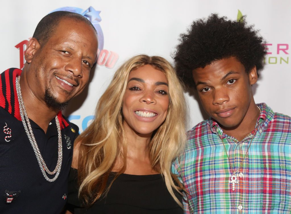 Wendy Williams with her ex and son