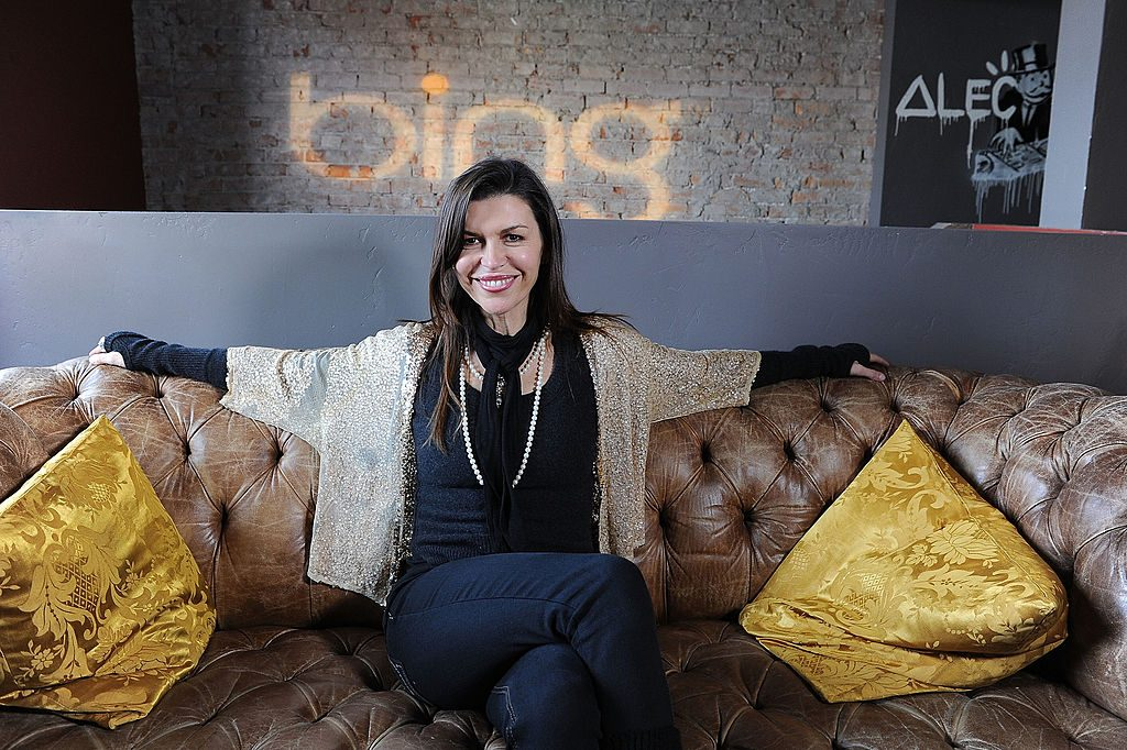 Finola Hughes, host of Who's Your Daddy?