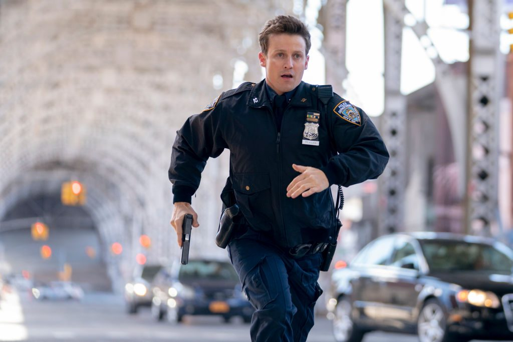 Will Estes on Blue Bloods  Michael Parmelee/CBS via Getty Images
