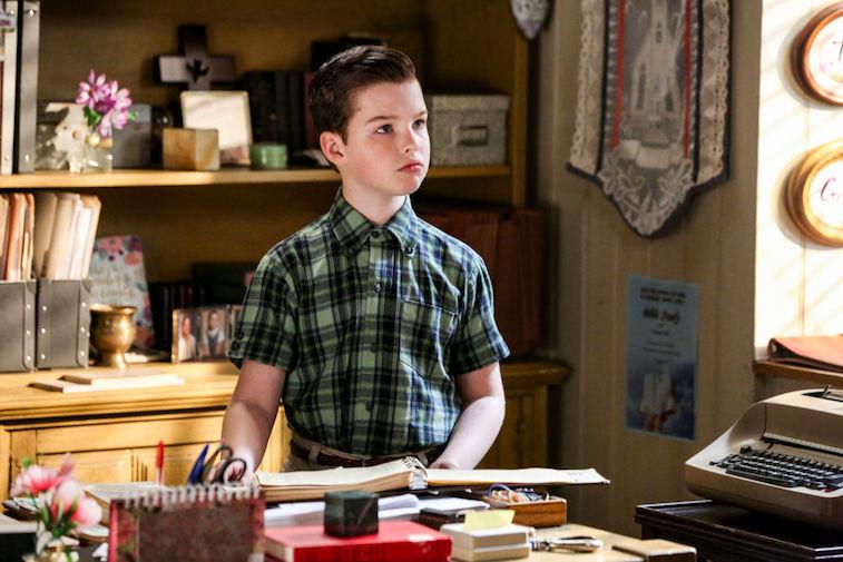 Young Sheldon actor Iain Armitage