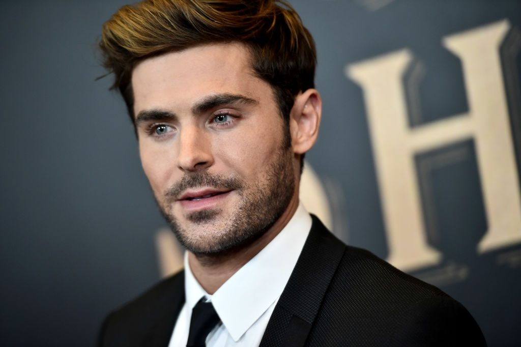 Zac Efron| Steven Ferdman/Patrick McMullan via Getty Images