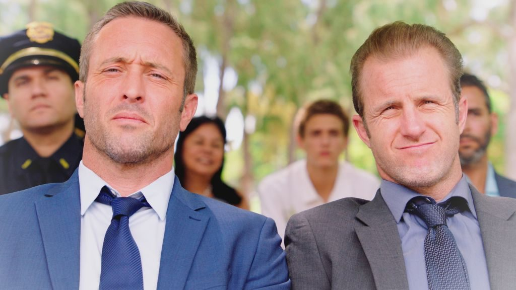 Alex O'Loughlin and Scott Caan