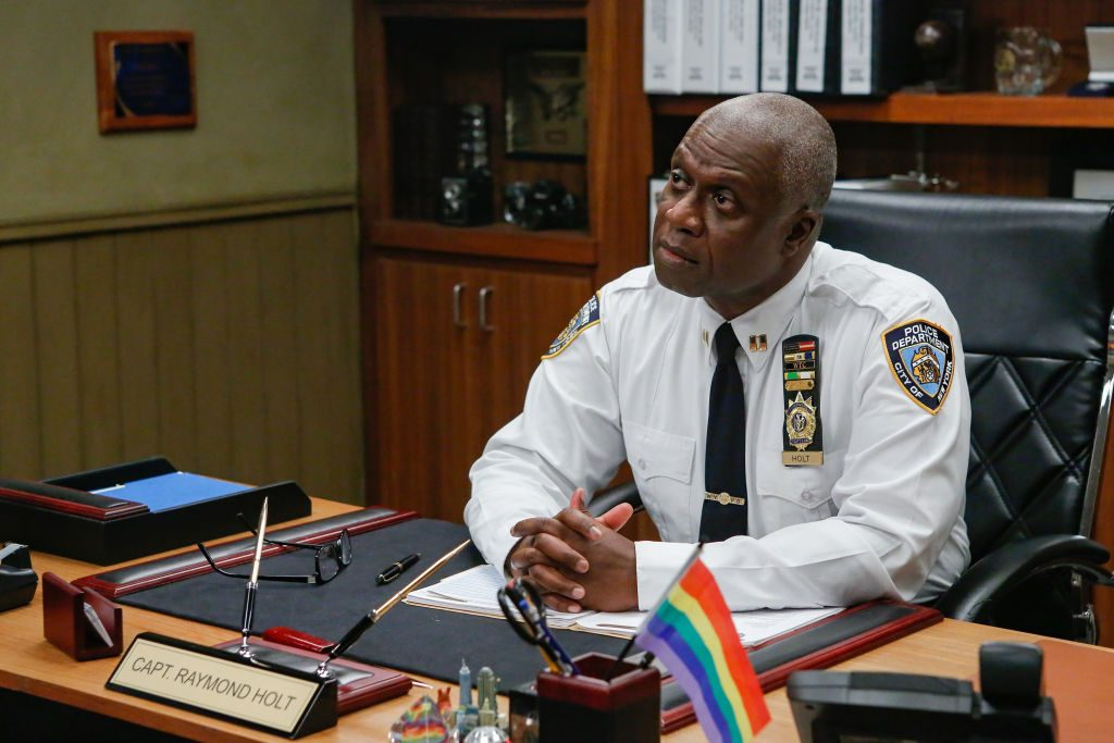 Andre Braugher as Ray Holt in Brooklyn Nine-Nine