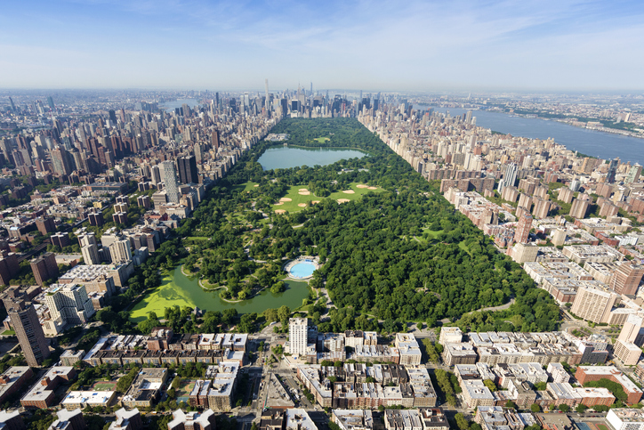 View of Manhattan wit Central Park