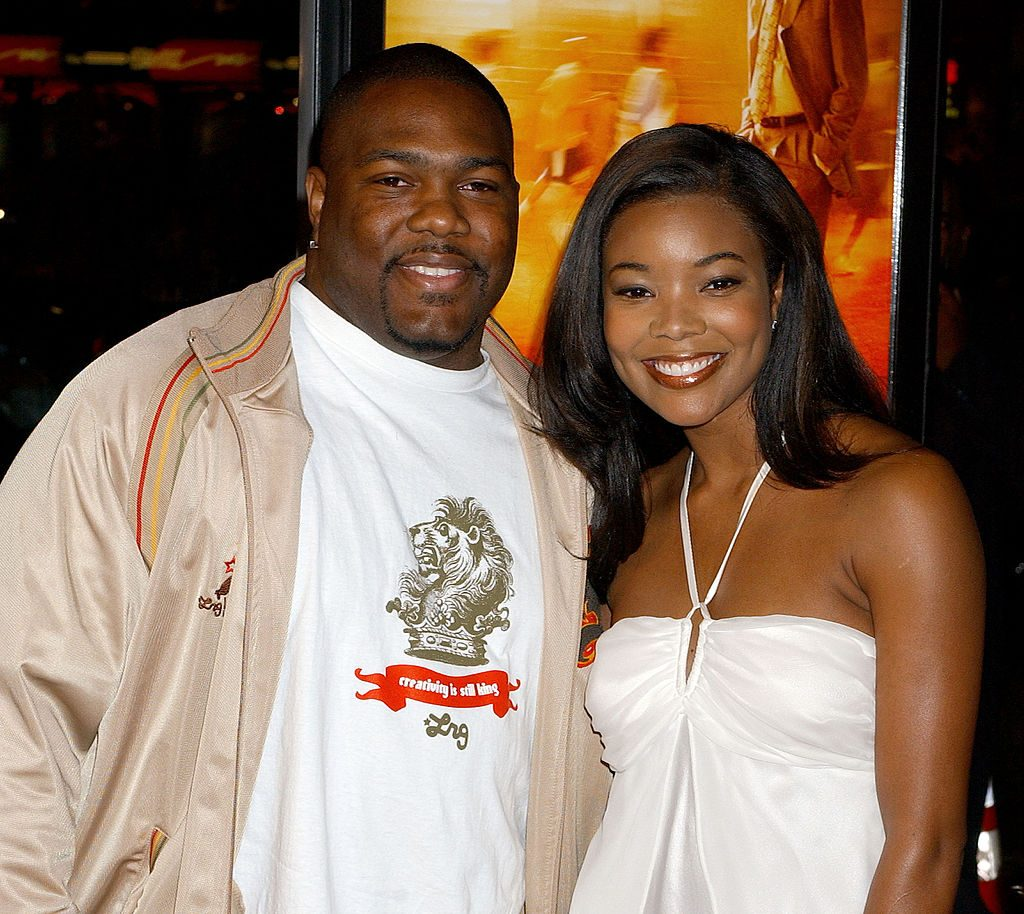 Chris Howard and Gabrielle Union at the Coach Carter Premiere