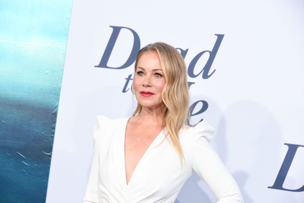 Christina Applegate attends Netflix's Dead To Me Season 1 premiere at The Broad Stage on May 02, 2019 in Santa Monica, California.