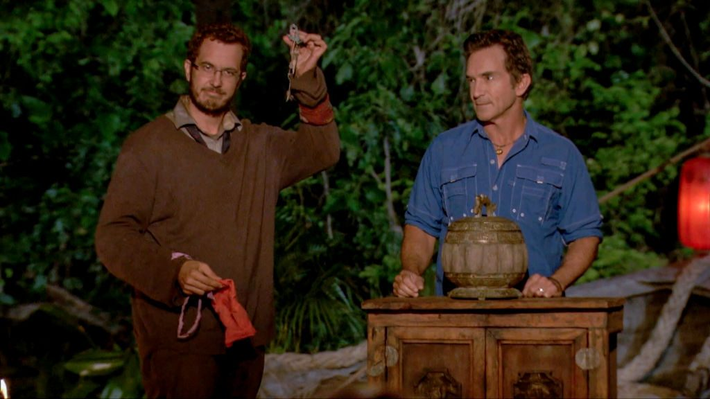 Rick Devens and Jeff Probst
