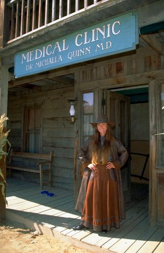 Jane Seymour in Dr Quinn Medicine Woman