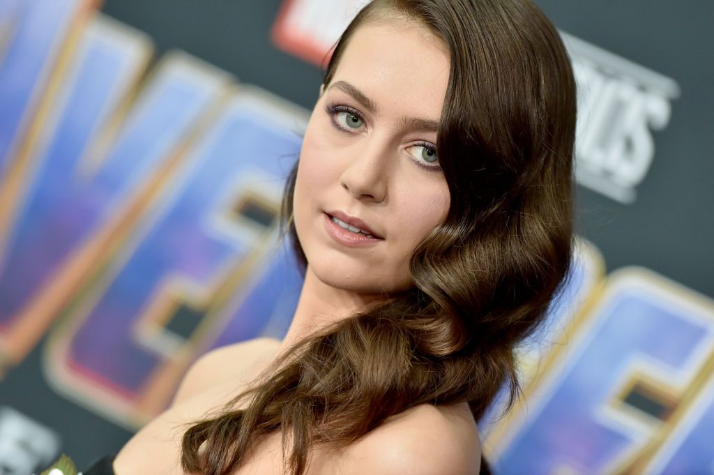 Emma Fuhrmann attends the World Premiere of Avengers: Endgame at the Los Angeles Convention Center on April 22, 2019.