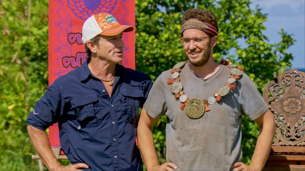 Jeff Probst and Rick Devens