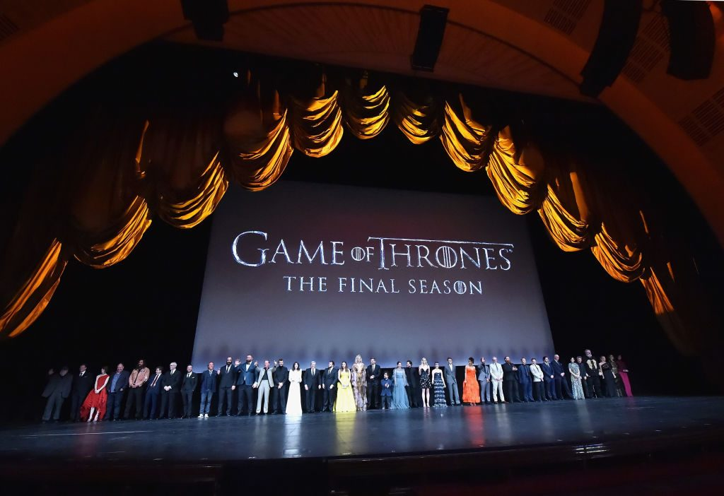 Game Of Thrones Season 8 NY Premiere on April 3, 2019, in New York City.