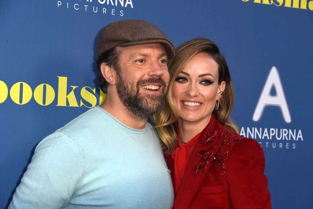 Jason Sudeikis and Olivia Wilde attend an LA Special Screening of Booksmart on May 13, 2019, in Los Angeles, California.