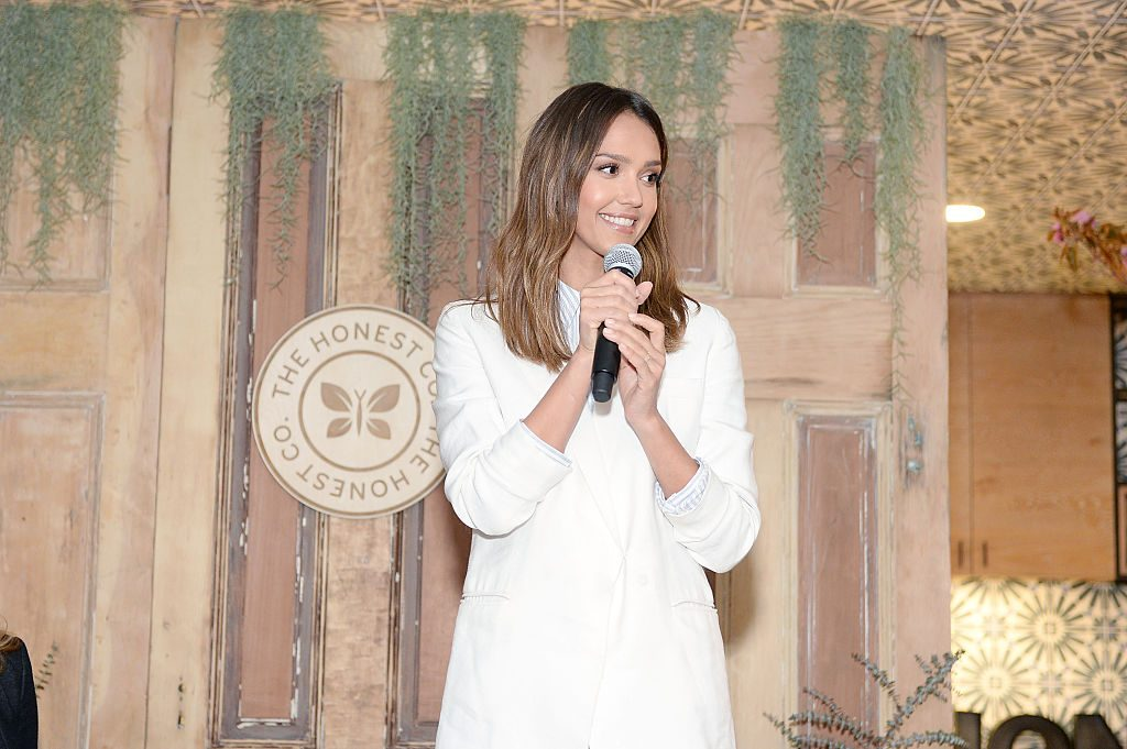 Jessica Alba at an event for The Honest Company