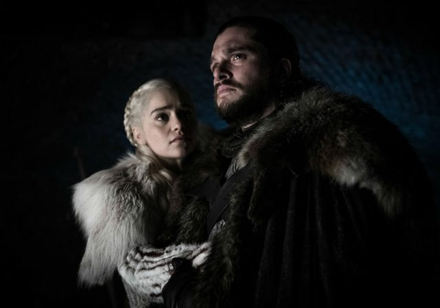 Jon Snow and Daenerys Targaryen